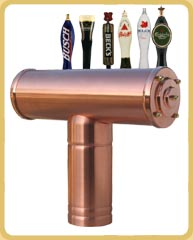 Alfa Copper Draft Beer Tower