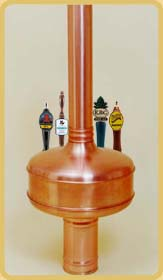 Brau 5 Copper Draft Beer Tower