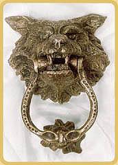 Accessories - Wolf head door knocker ...
